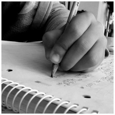 writing-hand
