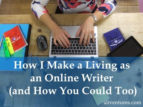 making-living-writing