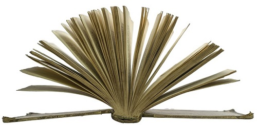 old-open-book