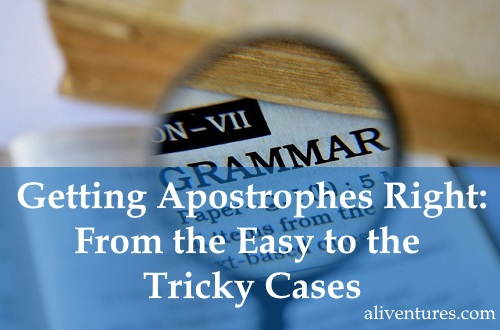 Getting Apostrophes Right: From the Easy to the Tricky Cases