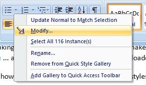 modify-normal-style