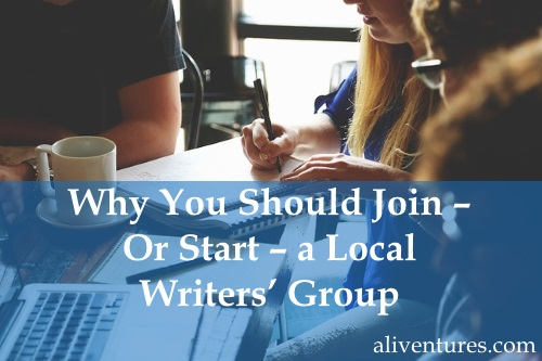 Why You Should Join – Or Start – a Local Writers' Group