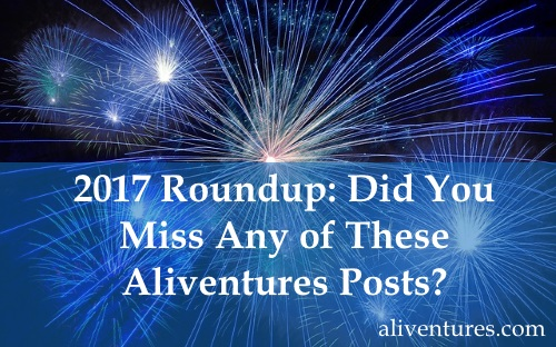 2017 Roundup: Did You Miss Any of These Aliventures Posts?