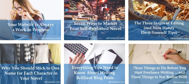Aliventures master the art craft and business of writing if youre not ready to dig into an ebook or a seminar right now how about a blog post here are a six you might enjoy covering the first half of 2018 fandeluxe Gallery