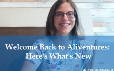 Welcome Back to Aliventures: Here's What's New