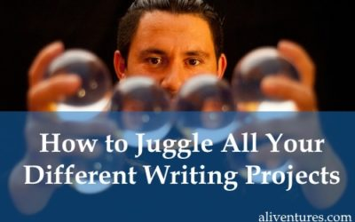 How to Juggle All Your Different Writing Projects