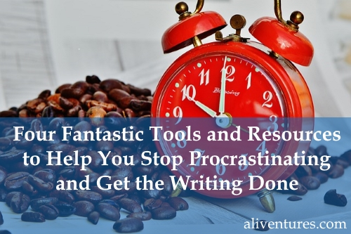 Four Fantastic Tools and Resources to Help You Stop Procrastinating and Get the Writing Done