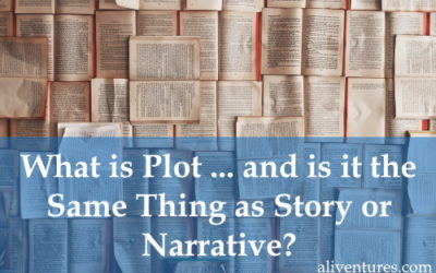 What is Plot … and is it the Same Thing as Story or Narrative?