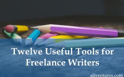 Twelve Useful Tools for Freelance Writers