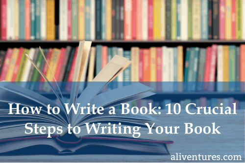 How to Write a Book (title image)