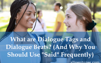 """What Are Dialogue Tags and Dialogue Beats? (And Why You Should Use """"Said"""" Frequently)"""
