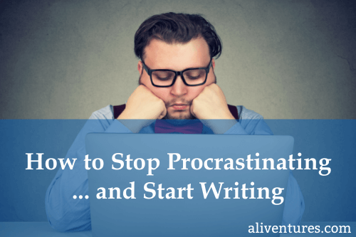 How to Stop Procrastinating and Start Writing (title image)